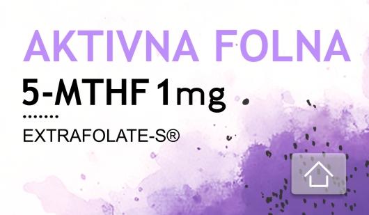 5-mthf aktivni oblik folne kiseline