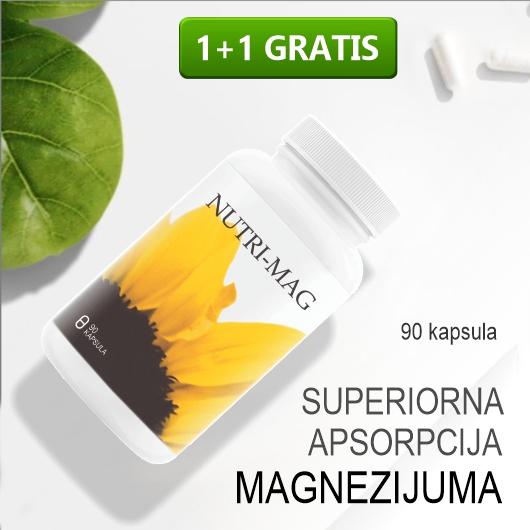 Nutri Mag, superiorna apsorpcija magnezijuma